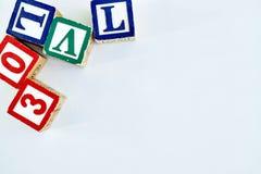 alfabetet letters trä Fotografering för Bildbyråer