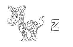 Alfabetfärgläggning söker djur serie` för `, Fotografering för Bildbyråer