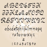 alfabetgrunge Royaltyfria Foton