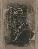 alfabetgrunge Royaltyfri Bild