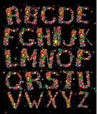 alfabetgyckel Arkivbild