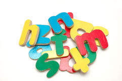 Alfabeti Fotografia Stock