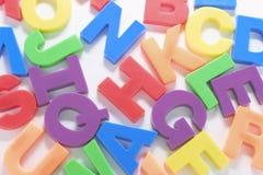Alfabeti Fotografie Stock