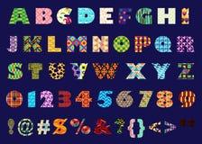 Alfabetisch vector illustratie