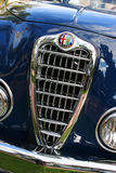 Alfabetisk Romeo Classic Chrome Grill Royaltyfri Fotografi