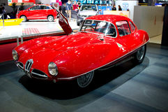 Alfabetisk Romeo Disco Volante Geneva 2014 Fotografering för Bildbyråer