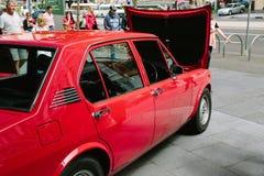 Alfabetisk Romeo Display - Melbourne (AROCA) Fotografering för Bildbyråer