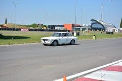 Alfabetisk Romeo Giulia Sprint GT Arkivbilder