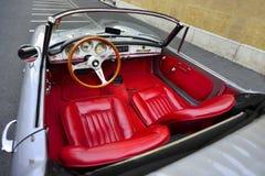 Alfabetisk 1958 Romeo Giulietta Spider Arkivfoton