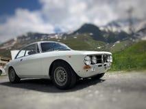Alfabetisk Romeo Guila 1750 1968 Arkivfoton