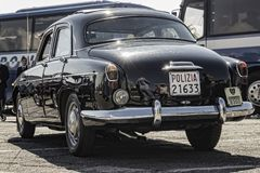 Alfabetisk Romeo Super 1900 år 1957 royaltyfri foto