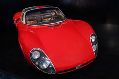 Alfabetisk Romeo Type 33 Stradale Royaltyfri Bild