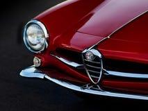Alfabetisk sportscar Romeo Giulietta Arkivfoto