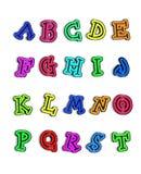 alfabetiskfärg som är varm mig t till Royaltyfria Foton