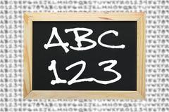 Alfabetizzazione e comprensione dei concetti scientifici Fotografia Stock Libera da Diritti