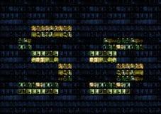 alfabetkontorsvägg Arkivbilder