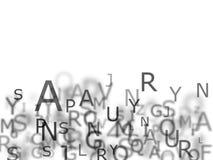 Alfabeto Foto de Stock