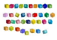 Alfabeto Imagen de archivo libre de regalías