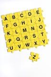 Alfabeto Fotos de Stock Royalty Free