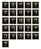 Alfabeto Fotos de archivo libres de regalías