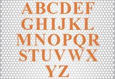 Alfabeto. Immagini Stock