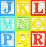 Alfabeto (2) Fotografia de Stock Royalty Free