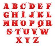 Alfabeto Immagine Stock
