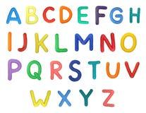 Alfabeto Fotografía de archivo libre de regalías