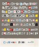 Alfabeto Imagens de Stock