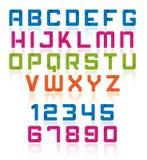 Alfabeto Ilustración del Vector