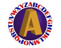 Alfabeto Fotografia Stock