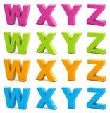 alfabeto 3d. Fotografía de archivo libre de regalías