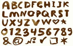 Alfabeto Immagini Stock Libere da Diritti