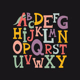 Alfabeto Fotografia Stock Libera da Diritti