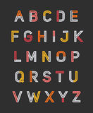 Alfabeto Foto de Stock Royalty Free
