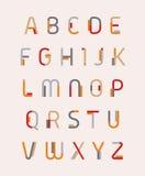 Alfabeto Imagem de Stock Royalty Free