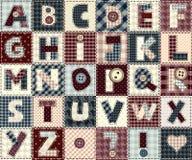 Alfabeto ABC Fotografia de Stock