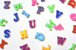 Alfabeto ABC del color Foto de archivo