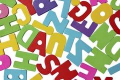 Alfabeto aislado Imagen de archivo libre de regalías
