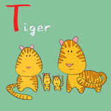 Alfabeto animal Imagens de Stock