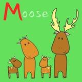 Alfabeto animal Foto de Stock
