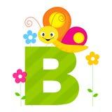 Alfabeto animal - B Imagens de Stock