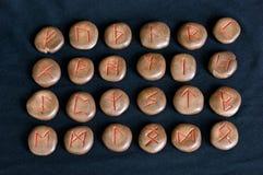 Alfabeto antigo Imagens de Stock Royalty Free