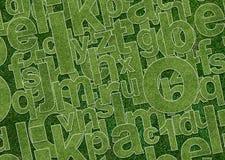 Alfabeto astratto royalty illustrazione gratis