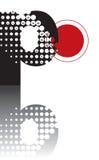 Alfabeto astratto di zen dei puntini Fotografia Stock Libera da Diritti