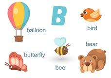 Alfabeto B libre illustration