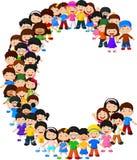 Alfabeto C do formulário das crianças ilustração do vetor
