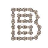 Alfabeto Chain Immagini Stock
