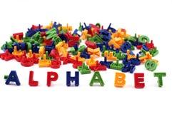 Alfabeto colorido Fotos de Stock
