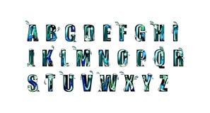 Alfabeto creativo illustrazione vettoriale